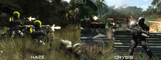 Haze Vs Crysis